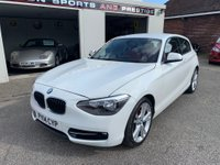 USED 2014 14 BMW 1 SERIES 1.6 116i Sport Sports Hatch (s/s) 5dr FULL LEATHER INTERIOR