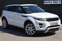 2012 LAND ROVER RANGE ROVER EVOQUE 2.0 SI4 Dynamic Lux AWD 5dr £16480.00