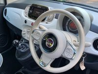 USED 2016 16 FIAT 500 1.2 8V Lounge (s/s) 3dr 1 OWNER+£20TAX+FSH+MOT 03/20