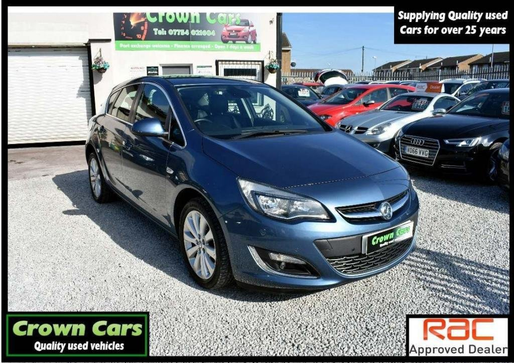 USED 2014 64 VAUXHALL ASTRA 1.6 16v Elite 5dr 3 MONTH WARRANTY &PDI CHECKS
