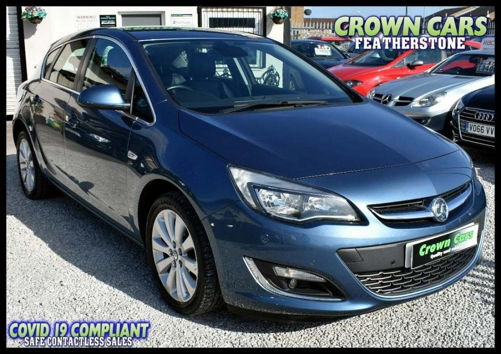 USED 2014 64 VAUXHALL ASTRA 1.6 16v Elite 5dr AMAZING LOW RATE FINANCE DEALS
