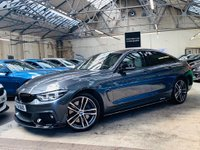 USED 2018 18 BMW 4 SERIES 3.0 435d M Sport Gran Coupe Auto xDrive (s/s) 5dr SHADOW ED & PERFORMANCE KIT