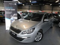 USED 2015 65 PEUGEOT 308 1.6 BLUE HDI S/S SW ACTIVE 5d 120 BHP
