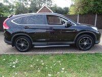 USED 2014 64 HONDA CR-V 2.2 I-DTEC BLACK EDITION 5d AUTO 148 BHP