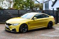 USED 2014 02 BMW M4 3.0 M4 2d AUTO AUSTIN YELLOW FBMWSH BALANCE OF BMW WARRANTY