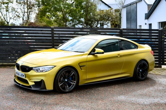2014 02 BMW M4 3.0 M4 2d AUTO AUSTIN YELLOW FBMWSH