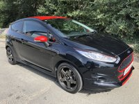 2016 FORD FIESTA 1.0 ZETEC S BLACK EDITION 3d 139 BHP £8895.00