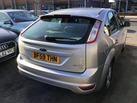 USED 2009 59 FORD FOCUS 1.6 ZETEC 5d 100 BHP Great family hatchback, 64000 miles, air/con, alloys, superb example.