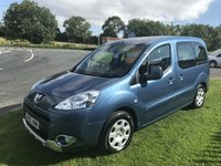 2010 PEUGEOT PARTNER 1.6 HDI TEPEE WHEELCHAIR ACCESS 5 SEATS LOW MILES £5795.00