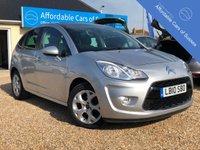 2010 CITROEN C3 1.4 EXCLUSIVE 5d 96 BHP £3995.00