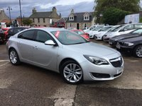 USED 2015 15 VAUXHALL INSIGNIA 2.0 SRI NAV CDTI ECOFLEX S/S 5d 138 BHP low mileage diesel with great service history and many extraas