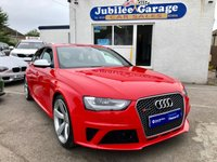 USED 2013 63 AUDI A4 4.2 RS4 AVANT FSI QUATTRO 5d AUTO 444 BHP £1000's Extas, Sports Exhaust, Misano Red, Incredible!