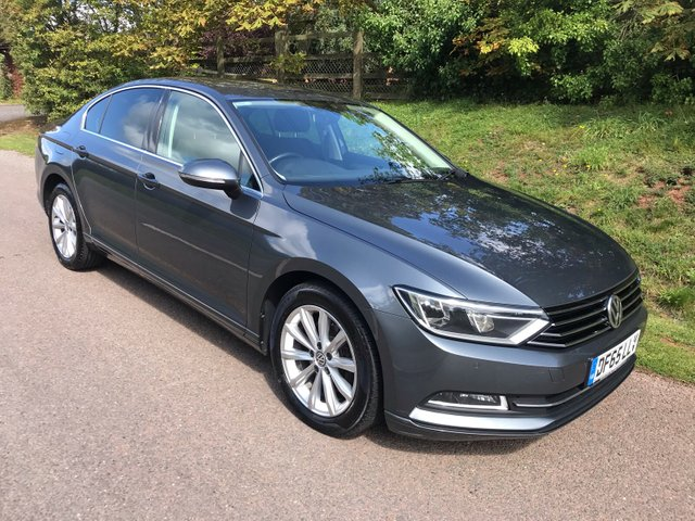 USED 2015 65 VOLKSWAGEN PASSAT 2.0 SE BUSINESS TDI BLUEMOTION TECHNOLOGY 4d 148 BHP **£20 A YEAR ROAD FUND**NEW MOT**SUPERB DRIVE**