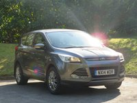 USED 2014 14 FORD KUGA 2.0 TITANIUM TDCI 5d 160 BHP FULL HISTORY & GREAT SPEC!