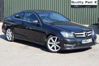 2012 MERCEDES-BENZ C CLASS 2.1 C220 CDI BlueEFFICIENCY AMG Sport Sport Coupe 7G-Tronic Plus 2dr £9980.00