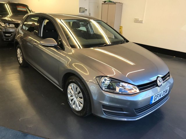 USED 2014 14 VOLKSWAGEN GOLF 1.4 S TSI BLUEMOTION TECHNOLOGY DSG 5d AUTO 120 BHP FULL MAIN DEALER SERVICE HISTORY, 1 PREVIOUS OWNER, BLUETOOTH PHONE AND AUDIO.