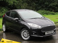 USED 2013 13 FORD FIESTA 1.6 TITANIUM X 3d AUTO 104 BHP 1/2 LEATHER HEATED FRONT SEATS