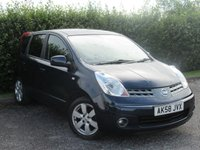 USED 2008 58 NISSAN NOTE 1.6 TEKNA 5d AUTO 109 BHP LOW MILEAGE AUTOMATIC