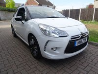 USED 2011 11 CITROEN DS3 1.6 E-HDI DSTYLE 3d 90 BHP 1 PRE OWNER