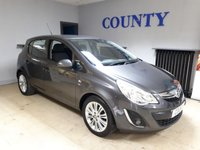 USED 2011 11 VAUXHALL CORSA 1.4 SE 5d 98 BHP * TWO OWNERS * FULL HISTORY *