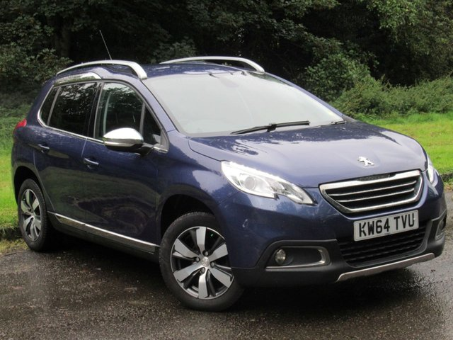 USED 2015 64 PEUGEOT 2008 1.6 E-HDI ALLURE 5d 92 BHP 1/2 LEATHER INTERIOR, TOUCH SCREEN MEDIA