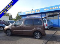 USED 2014 14 PEUGEOT PARTNER 1.6 TEPEE S 5d 120 BHP 5 SEATS + WHEELCHAIR ACCESSIBLE VEHICLE