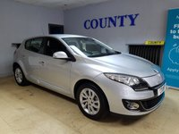 USED 2013 13 RENAULT MEGANE 1.6 DYNAMIQUE TOMTOM VVT 5d 110 BHP * TWO OWNERS * FULL HISTORY *