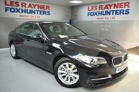 USED 2016 16 BMW 5 SERIES 2.0 520D SE 4d AUTO 188 BHP Full Leather, Cruise control, Bluetooth, Sat Nav, 1 Owner