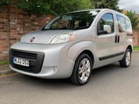 USED 2013 62 FIAT QUBO 1.2 MULTIJET MYLIFE 5d 75 BHP 2 OWNER, FULL SERVICE HISTORY, £20 RAOD TAX, 1YR MOT EXCELLENT CONDITION,  ALLOYS, AIR CON, RADIO CD, E/WINDOWS, R/LOCKING, FREE WARRANTY, FINANCE AVAILABLE, HPI CLEAR, PART EXCHANGE WELCOME,
