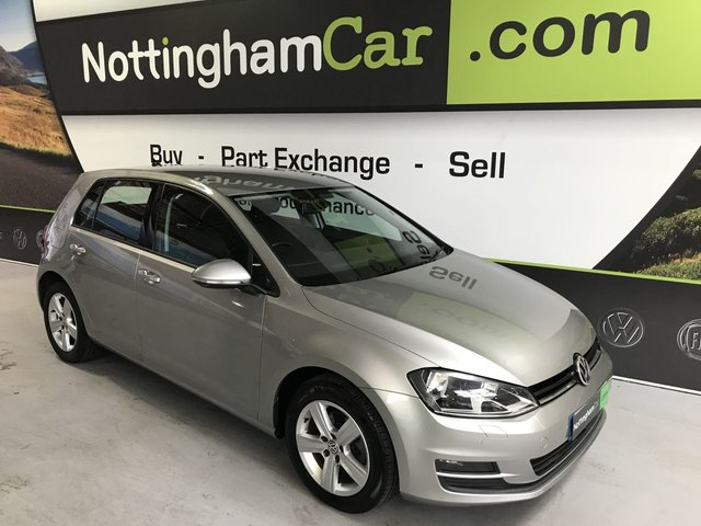 USED 2016 16 VOLKSWAGEN GOLF 1.6 MATCH EDITION TDI BMT 5d 109 BHP