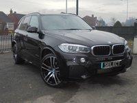 2016 BMW X5 3.0 XDRIVE40D M SPORT 5d AUTO 309 BHP £28995.00