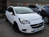 USED 2016 16 VAUXHALL CORSA 1.4 SRI ECOFLEX 3d 89 BHP ANY PART EXCHANGE WELCOME, COUNTRY WIDE DELIVERY ARRANGED, HUGE SPEC