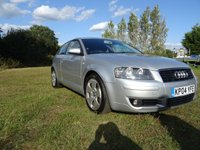 USED 2004 04 AUDI A3 2.0 TDI SPORT 3d 138 BHP WHOLESALE DIVISION
