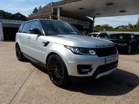 USED 2015 65 LAND ROVER RANGE ROVER SPORT 3.0 SDV6 HSE DYNAMIC 5d AUTO 306 BHP FACTORY TOW BAR,SAT NAV,GLASS ROOF,HEATED SEATS,BLUETOOTH
