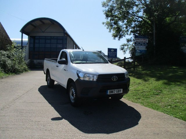 2017 17 TOYOTA HI-LUX 2.4 ACTIVE 4WD D-4D SINGLE CAB 150 BHP TURBO DIESEL 5yr warranty