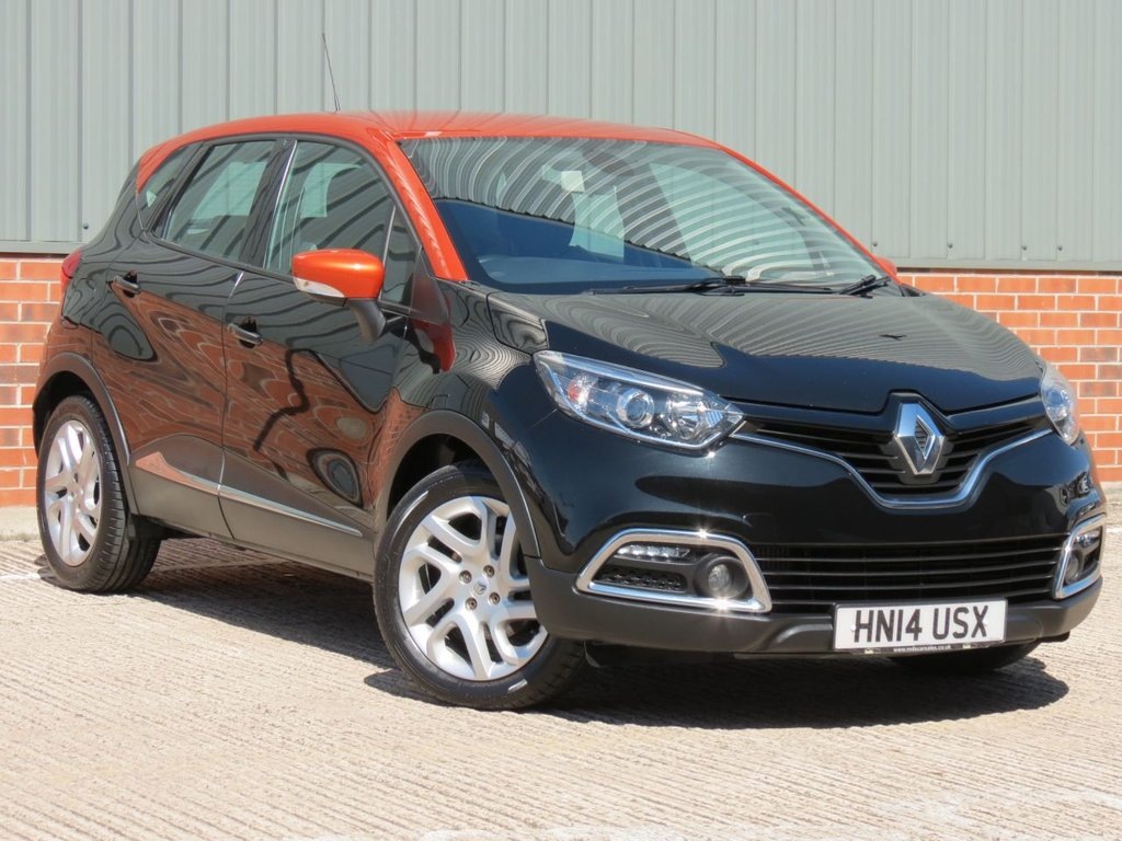 USED 2014 14 RENAULT CAPTUR 1.5 DYNAMIQUE MEDIANAV ENERGY DCI S/S 5d 90 BHP EXCELLENT CONDITION AND FANTASTIC VALUE