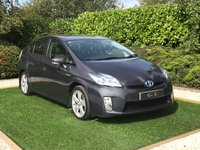 USED 2011 60 TOYOTA PRIUS 1.8 T SPIRIT VVT-I 5d 99 BHP Ultra Reliable Hybrid Technology with Fantastic Low Running Costs and Free Road Tax,  there is also an Excellent Specification which Includes Satellite Navigation + Bluetooth Connectivity + DAB Radio, Front and Rear Park Distance Control + Reverse Camera, Automatic LED Headlight with Daytime Running Lights, Leather Multi Function Steering Wheel, Digital Climate Control, Cruise Control, On-board Computer, 16 Inch Alloy Wheels
