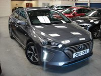 USED 2017 17 HYUNDAI IONIQ 1.6 PREMIUM 5d AUTO ANY PART EXCHANGE WELCOME, COUNTRY WIDE DELIVERY ARRANGED, HUGE SPEC
