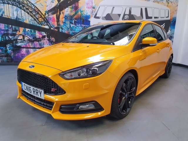 USED 2016 16 FORD FOCUS 2.0 ST-3 TDCI 5d 183 BHP