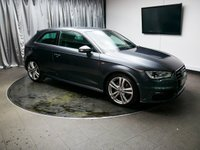 USED 2015 65 AUDI A3 2.0 TDI S LINE 3d 182 BHP £0 DEPOSIT FINANCE AVAILABL, AUX INPUT, AIR CONDITIONING, BLUETOOTH CONNECTIVITY, CLIMATE CONTROL, COLOUR DISPLAY SCREEN, DAB RADIO, ELECTRONIC PARKING BRAKE, HALF LEATHER SEATS, STEERING WHEEL CONTROLS, SAT-NAV, TRIP COMPUTER