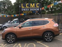 USED 2017 66 NISSAN X-TRAIL 1.6 DCI N-TEC 5d 130 BHP STUNNING COPPER BLAZE METALLIC WITH LUXURY DARK GREY CLOTH UPHOLSTERY. ONLY TWO OWNERS FROM NEW. 7 SEATER. AIR CONDITIONING. CRUISE CONTROL. PARKING SENSORS. ALLOY WHEELS. REMOTE CENTRAL LOCKING. ELECTRIC WINDOWS. PLEASE GOTO www.lowcostmotorcompany.co.uk TO VIEW OVER 120 CARS IN STOCK