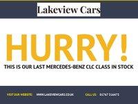 USED 2009 09 MERCEDES-BENZ CLC CLASS 1.8 CLC180 KOMPRESSOR SPORT 3d 143 BHP