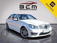 USED 2011 11 MERCEDES-BENZ C CLASS 2.1 C200 CDI BLUEEFFICIENCY SPORT 4d AUTO 135 BHP