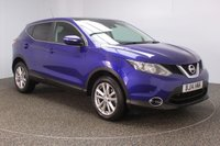 USED 2014 14 NISSAN QASHQAI 1.5 DCI ACENTA PREMIUM 5DR SAT NAV PANORAMIC ROOF SERVICE HISTORY + FREE 12 MONTHS ROAD TAX + SATELLITE NAVIGATION + REVERSE CAMERA + PANORAMIC ROOF + PARKING SENSOR + BLUETOOTH + CRUISE CONTROL + MULTI FUNCTION WHEEL + CLIMATE CONTROL + DAB RADIO + PRIVACY GLASS + XENON HEADLIGHTS + RADIO/CD/AUX/USB + ELECTRIC WINDOWS + ELECTRIC MIRRORS + 17 INCH ALLOY WHEELS
