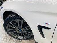 USED 2015 15 BMW 4 SERIES 3.0 430d M Sport 2dr PERFORMANCE KIT 19S RED LTHR