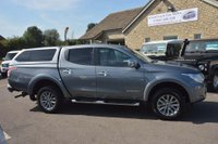 USED 2016 66 MITSUBISHI L200 2.4 DI-D DC Barbarian Double Cab 4WD 4dr TOW BAR*REAR CANOPY*FSH