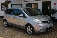 USED 2010 10 NISSAN NOTE 1.5 TEKNA DCI 5d 86 BHP Service History and only one previous owner makes this low mileage example very desirable.