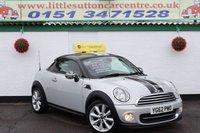 2012 MINI COUPE 1.6 COOPER 2d 120 BHP £6000.00