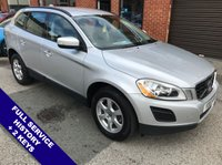 """USED 2010 10 VOLVO XC60 2.0 D3 DRIVE ES 5DOOR 161 BHP DAB Radio   :   USB & AUX Sockets   :   Cruise Control   :   Phone Bluetooth Connectivity      Climate Control / Air Conditioning   :   Rear Parking Sensors   :   17"""" Alloy Wheels   :   2 Keys      Full Service History"""