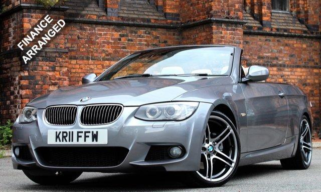2011 11 BMW 3 SERIES 3.0 330D M SPORT 2d AUTO 242 BHP [ PRONAV ]